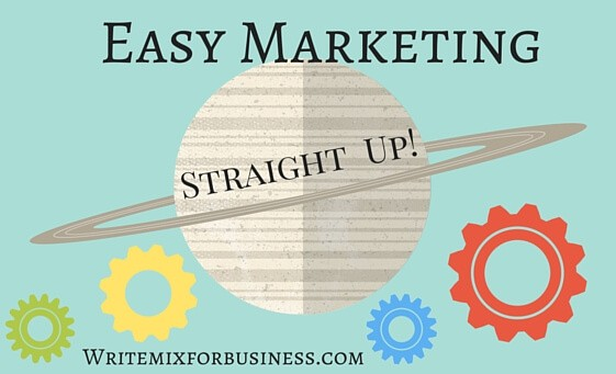 Marketing is Easy BizShops Workshop 1: How to Market Your business the easy Way course title image for Write Mix for Business, BizShops FREE course