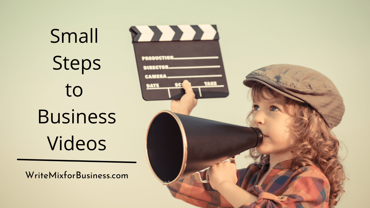 Small Steps to Business Videos Title Visual for BizShops Free Course